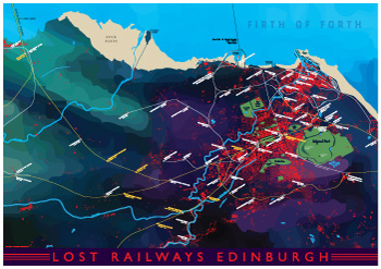 Lost Railways Edinburgh