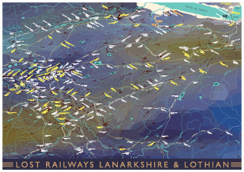 Lost Railways Lanarkshire & Lothian