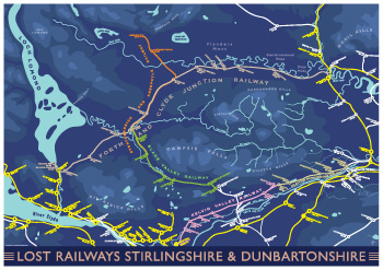 Lost Railways Stirlingshire & Dunbartonshire